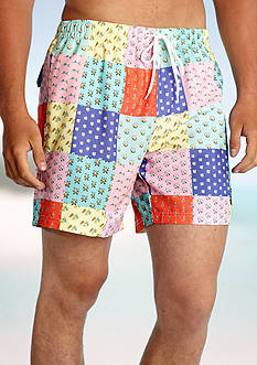 Southern Proper Patchwork Trunk Shorts