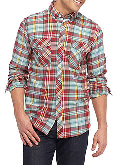 Southern Proper Long Sleeve River Flannel Shirt