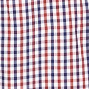 Men: Southern Proper Casual Shirts: Red Southern Proper Plaid Goal Line Shirt