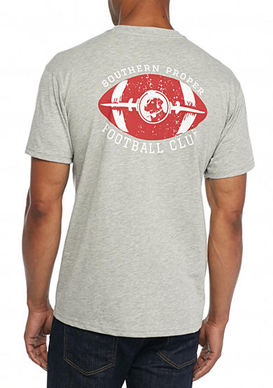 Southern Proper Short Sleeve Football Graphic Tee