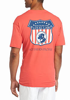 Southern Proper Short Sleeve Loyal Labs Graphic Tee