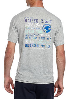 Southern Proper Short Sleeve Raised Right Graphic Tee