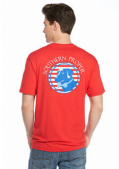 Southern Proper Original Patriotic Graphic Tee