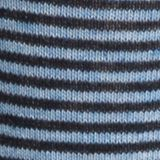 Mens Dress Socks: Coastal Blue Heather/ Classic Navy Tommy Hilfiger Color Stripe Crew Socks - 2 Pack