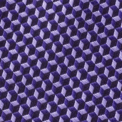 Michael Michael Kors Men Sale: Purple MICHAEL Michael Kors Linked Hexagon Neat Tie