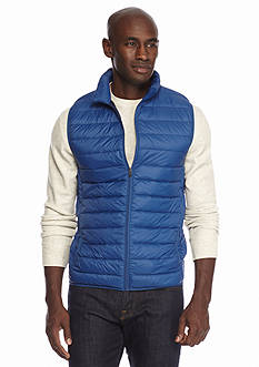 Saddlebred® Lightweight Packable Down Puffer Vest