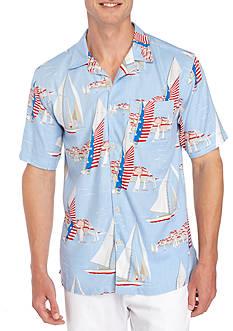Saddlebred Short Sleeve Sailing Camp Shirt