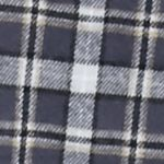 Men: Casual Shirts Sale: Graphite Saddlebred Flannel Shirt Jacket With Contrast Yoke