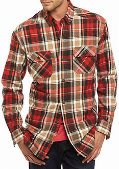 Saddlebred Flannel Plaid Shirt Jacket