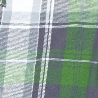 Men: Casual Shirts Sale: Green/Gray Saddlebred Flannel Plaid Shirt Jacket