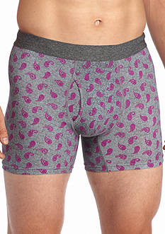 Saddlebred Paisley Knit Boxer Briefs