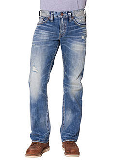 Silver Jeans Zac Wash Relaxed Fit Jean