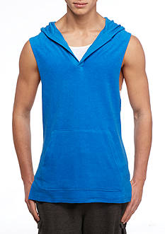 Red Camel® Sleeveless Terry Beach Hoodie