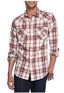 Red Camel® Long Sleeve Western Plaid Shirt