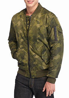 Red Camel Camo Aviator Jacket
