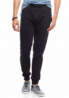 Red Camel Side Zip Tech Jogger Pants