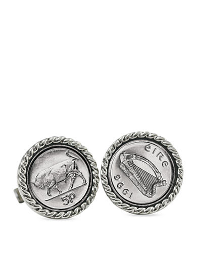 American Coin Treasures Copper Indian Head Cuffllinks