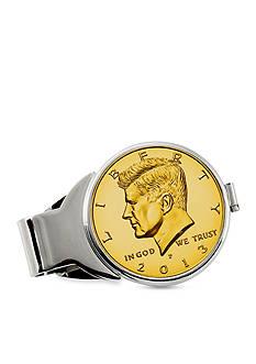 American Coin Treasures Gold-Layered JFK Half Dollar Money Clip