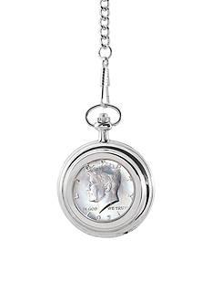 American Coin Treasures JFK Half Dollar Pocket Watch