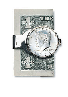 American Coin Treasures JFK Half Dollar Money Clip