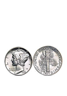 American Coin Treasures Silver Mercury Dime Cufflinks