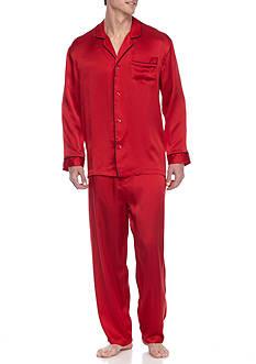 Geoffrey Beene Silk Pajama Set