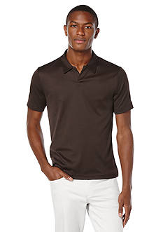 Perry Ellis Big & Tall Knit Polo Shirt