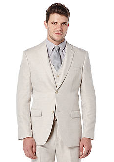 Perry Ellis Big & Tall Linen Suit Jacket
