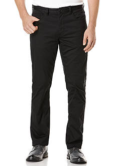 Perry Ellis® Big & Tall Solid Sateen 5 Pocket Pants