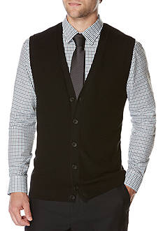 Perry Ellis® Solid Sweater Vest