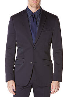 Perry Ellis Slim Fit Solid Tech Suit Jacket