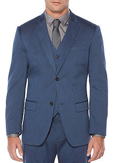 Perry Ellis Heather Twill Suit Jacket