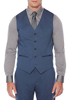 Perry Ellis Heather Twill Suit Vest