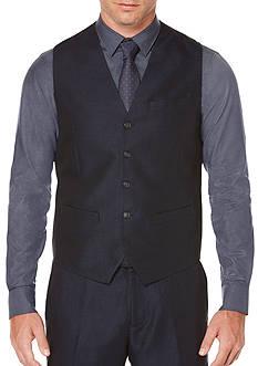 Perry Ellis Linen Cotton Twill Vest