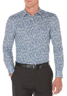 Perry Ellis Tonal Check Shirt