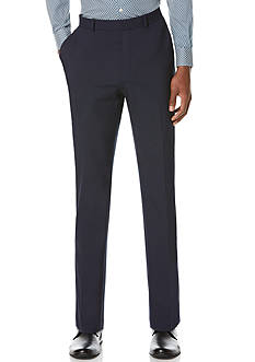 Perry Ellis® Slim Fit Flat Front Tech Pants