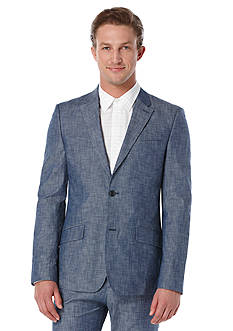 Perry Ellis® Slim Fit Chambray Suit Jacket