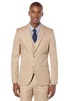 Perry Ellis® Slim Fit Linen Suit Jacket