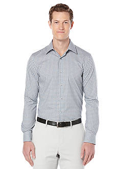 Perry Ellis Slim Fit Check Pattern Shirt