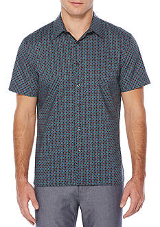 Perry Ellis® Short Sleeve Diamond Shirt