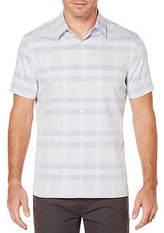 Perry Ellis Short Sleeve Multi Color Digital Speck Shirt
