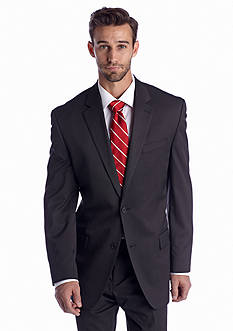 IZOD Black Stripe Suit Separate Coat