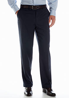 IZOD Classic Fit Navy Tic Pants