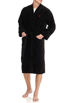 Jockey Terry Velour Kimono Robe