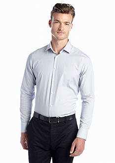 Vince Camuto Cobalt Dobby Stripe Dress Shirt