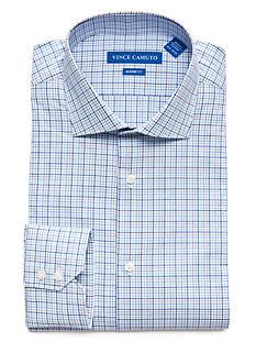 Vince Camuto Men's Modern-Fit Check Dress Shirt