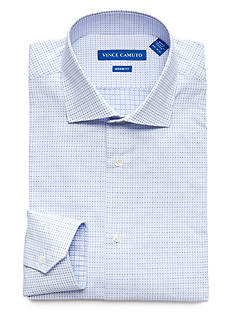 Vince Camuto Men's Modern-Fit Square Dobby Dress Shirt