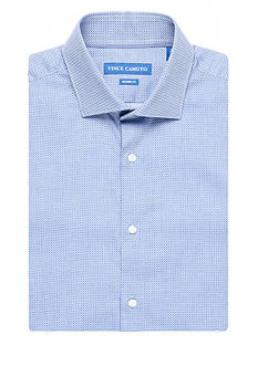 Vince Camuto Modern-Fit Dobby Diamond Dress Shirt