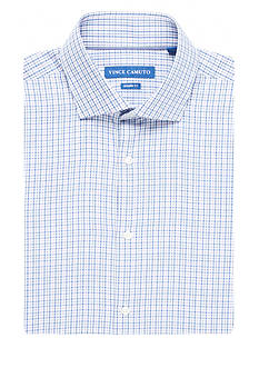 Vince Camuto Modern-Fit Check Dress Shirt