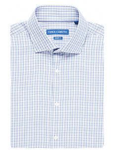 Vince Camuto Modern-Fit Check Dress Shirt